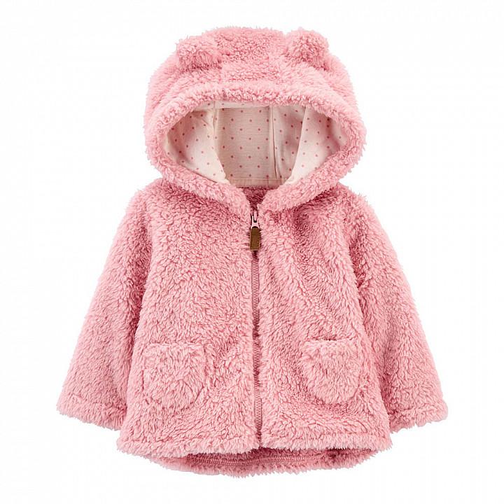 Куртка с капюшоном для дівчинки (1M145710_12M)
