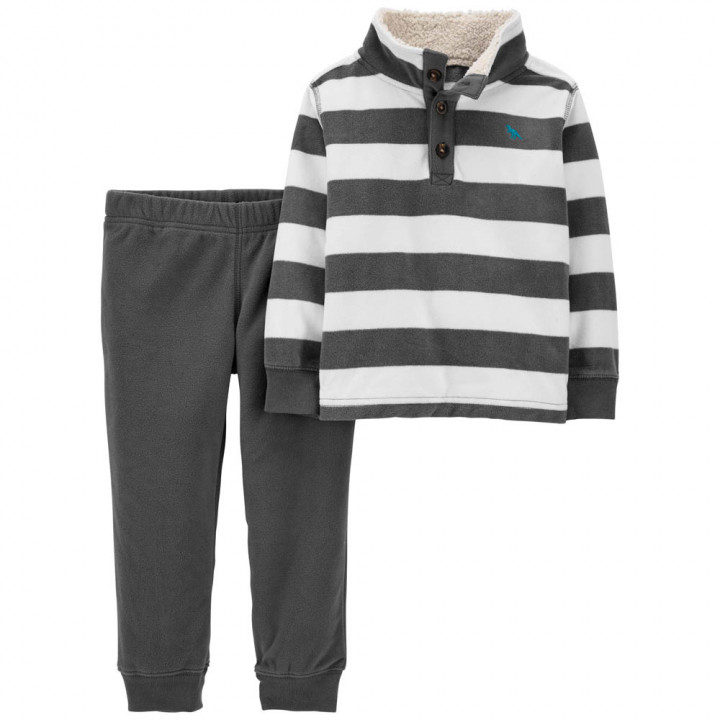 Комплект (2 шт) кофта з довгим рукавом, штани для хлопчика (2M035510_2T)