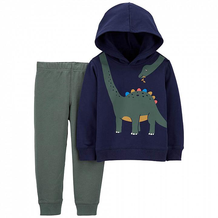 Комплект (2 шт) кофта з довгим рукавом, штани для хлопчика (2M036210_2T)