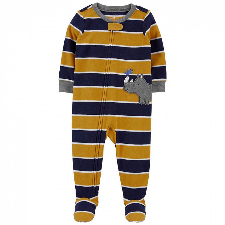 Чоловічок-Піжама флісовий для хлопчика (2M079510_2T)
