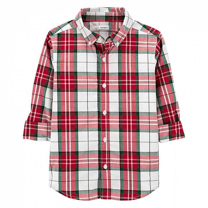 Сорочка з довгими рукавами для хлопчика (3M074610_6)