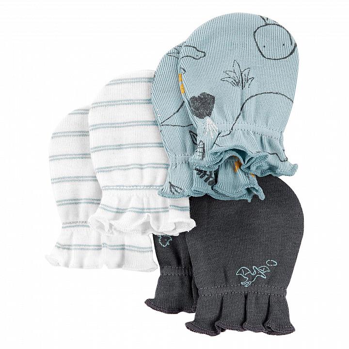 Комплект рукавичок (3шт.) для хлопчика (46-61 cm) (1L776810_0-3M)