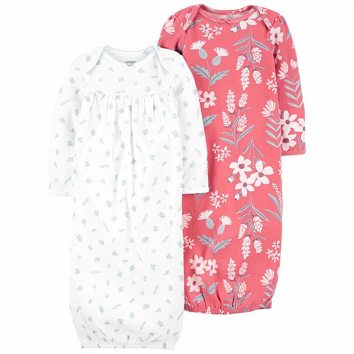 Нічна сорочка (2 шт.) для дівчинки (0m) (1L778110_PRE)