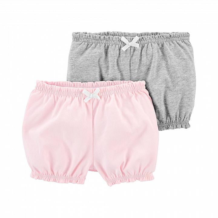 Комплект шортиків (2 шт.) для дівчинки (55-61cm) (1L931510_3M)