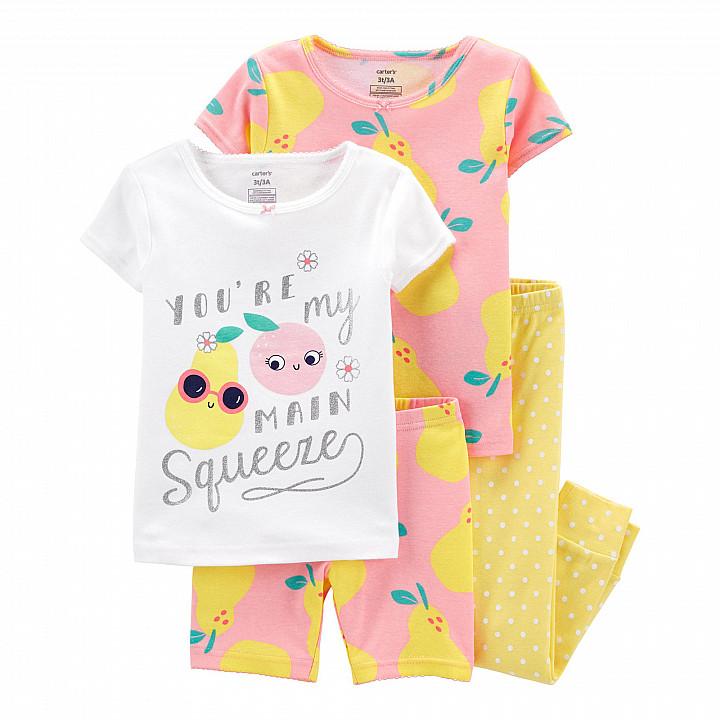 Комплект піжам (2 шт.) для дівчинки (105-112cm) (2L721010_5T)