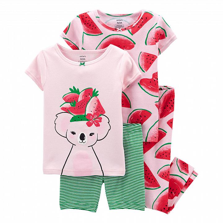 Комплект піжам (2 шт.) для дівчинки (105-112cm) (2L919410_5T)