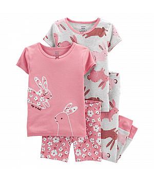 Комплект піжам (2 шт.) для дівчинки (105-112cm) (2L919610_5T)