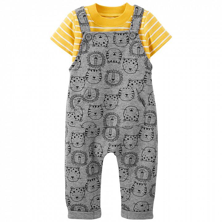 Комплект (2 шт.) футболка та комбінезон для хлопчика (1K463410_18M)
