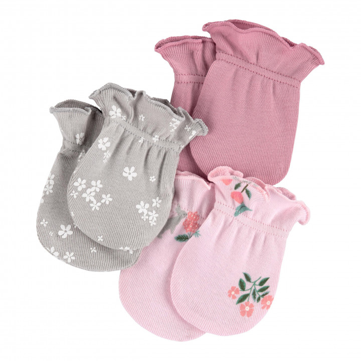 Рукавички для новонароджених для дівчинки (1I712610_0-3M)