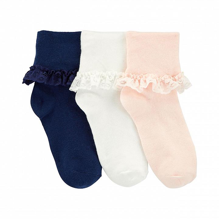 Шкарпетки для дівчинки (3J478110_4-7)