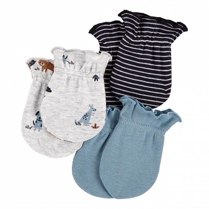 Рукавички для новонароджених для хлопчика (1I733410_0-3M)
