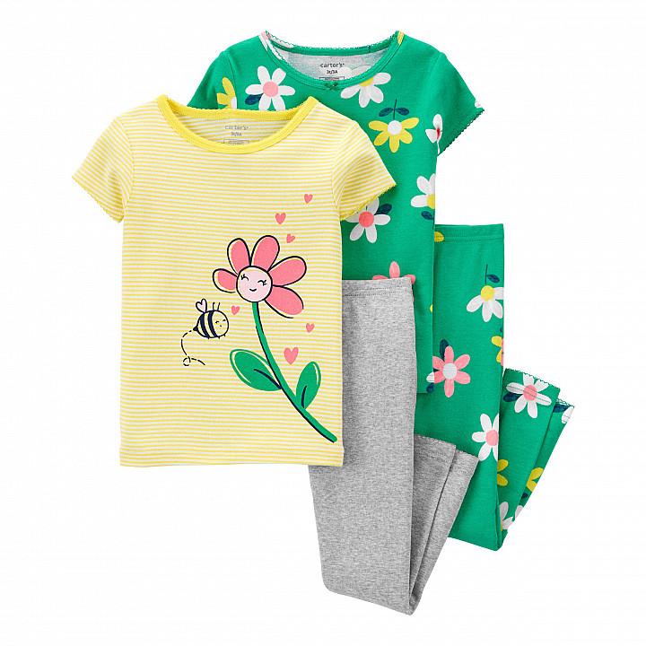 Комплект піжам 2в1 для дівчинки (2K553310_3T)