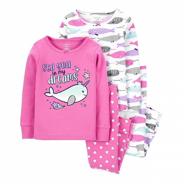 Комплект піжам 2в1 для дівчинки (2J909810_2T)
