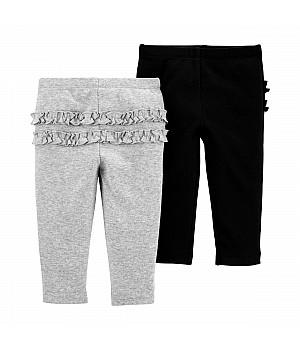 Комплект штанів для дівчинки 2В1 (1J059010_18M)
