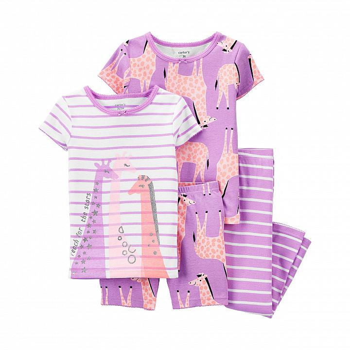 Комплект піжам 2в1 для дівчинки (2K410810_4T)