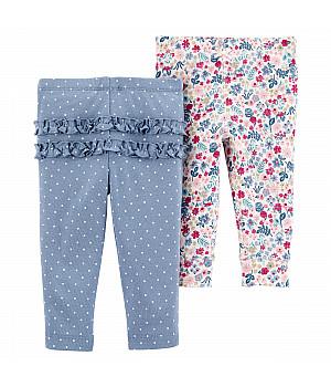 Комплект штанів для дівчинки 2в1 (1I721510_6M)