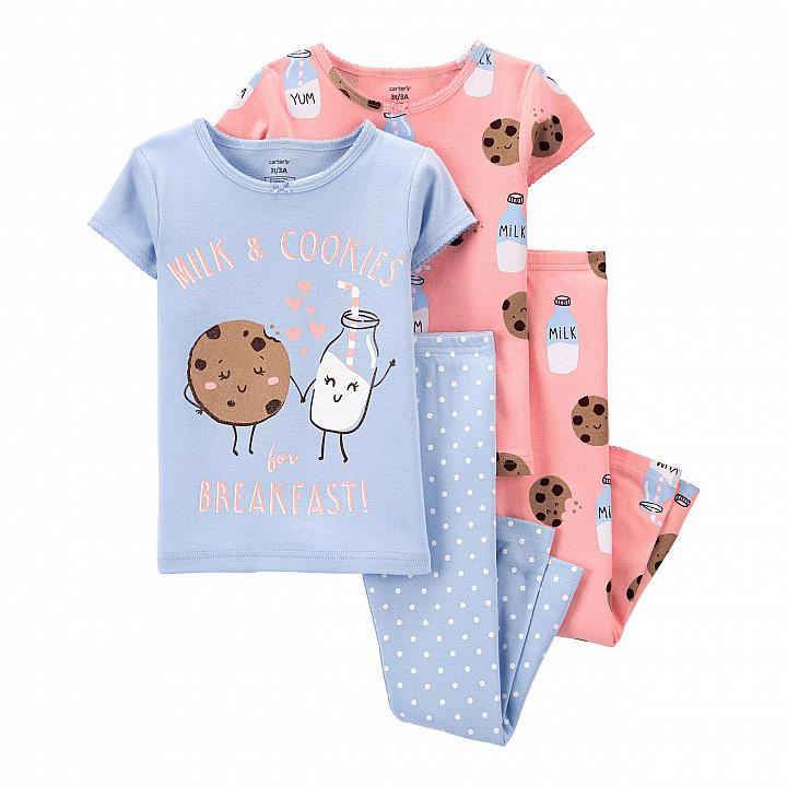 Комплект піжам 2в1 для дівчинки (2K564710_3T)