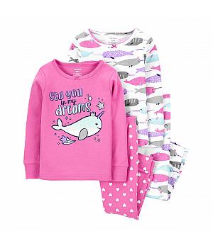 Комплект піжам для дівчинки 2В1 (1J909810_12M)