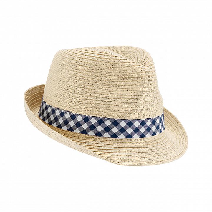Солом'яний капелюх для хлопчика (1K450110_0-9M)