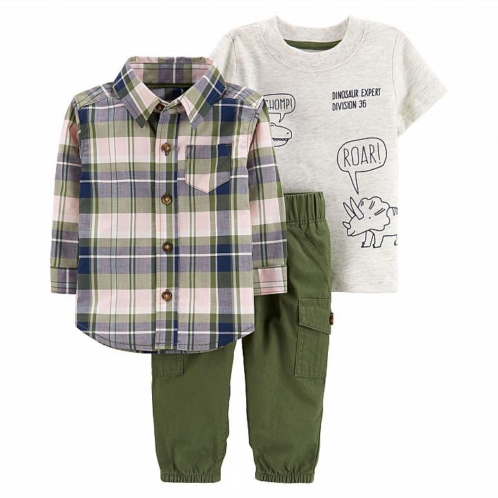 Комплект із сорочкою 3в1 для хлопчиків (16546010_9M)