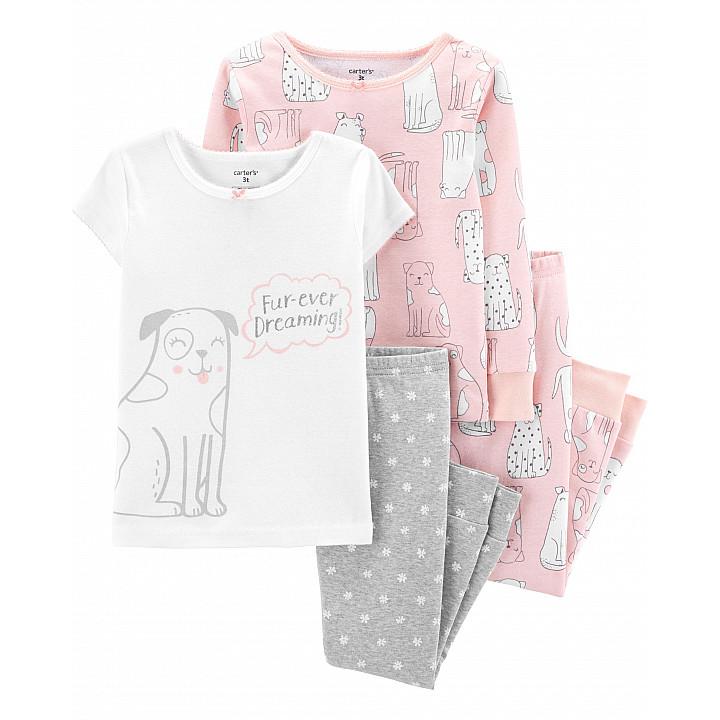 Комплект з 2-х піжам для дівчаток (17872010_12M)