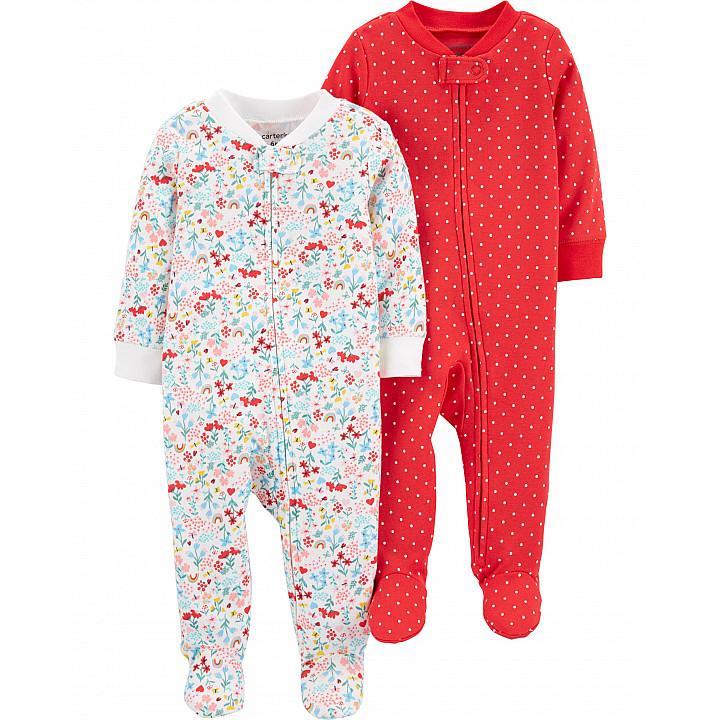 Комплект з 2-х піжам для дівчаток (1H371010_6M)