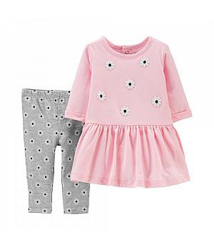 Комплект із сукнею 2в1 для дівчат (1H557610_12M)