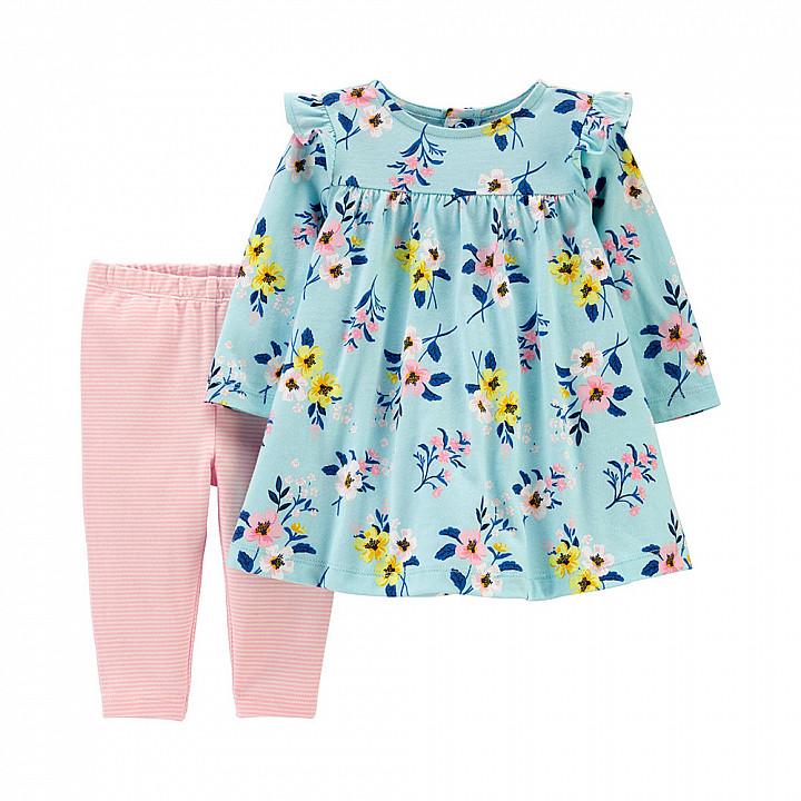 Комплект із сукнею 2в1 для дівчат (1H558010_12M)
